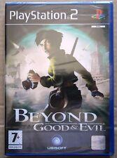 BEYOND GOOD & EVIL PS2 EDIZIONE ITALIANO NUOVO BRAND NEW