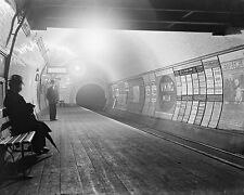 London Underground Early 1900's BW 10x8 Photo