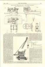 1894 Electric Travelling And Jib Cranes Joseph Tomlinson Self Adjusting Sandpipe