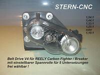 Belt Drive V4 Reely Carbon Fighter / Breaker einstellbar für 5 Untersetzungen