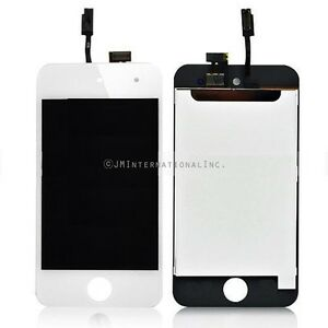 White iPod Touch 4th A1367 LCD Screen Display Touch Screen Digitizer Assembly