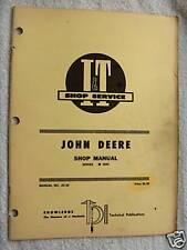 I&T John Deere 2840 Series, Tractor Shop Service Manual