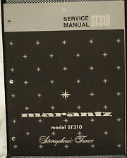 Original OEM Marantz ST310 Stereo Tuner Service Manual