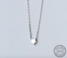 New! Solid 925 Sterling silver Little Star Necklace + Gift bag!