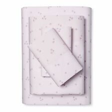 Rachel Ashwell Simply Shabby Chic Cotton Ditsy Pink Rose Floral Sheet Set-Queen