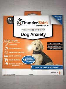 Thundershirt for Anxiety Dogs XXS to XL New Solid Gray