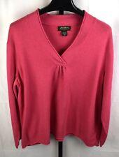 Eddie Bauer Coral Sweater Plus Size 3X