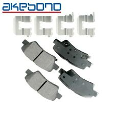 For Hyundai Accent Elantra Kia Optima Rio Disc Brake Pads Akebono ProACT ACT1544