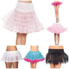 SEXY Layered Tulle Petticoat Under Skirt Crinoline Petticoats Slips Tutu New