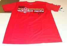Canada 2015 World Juniors Hockey 100th Anniversary Red Champions Gold T Shirt M