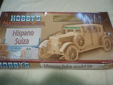 A un built Hobby's Matchbuilder kit of a Hispano Suiza