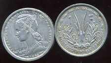 AFRIQUE OCCIDENTALE FRANCAISE   1  franc 1948   ANM  ( TB+ )  ( bis )