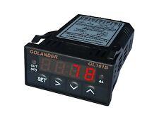 12V DC Universal 1/32DIN Digital  F/C PID Temperature Controller, Red