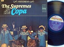 Supremes~Rare US LP Supremes at the Copa EX '65 Motown Dianna Ross Girl Group