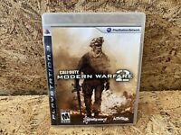 Call of Duty Modern Warfare 2 MW2 (2009) PlayStation 3 PS3 CIB Complete TESTED