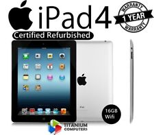 Apple Ipad 4ª Generación 16GB, Wi-Fi, 9.7in - Negro