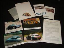 Porsche 911 Targa & carrera 4S 1995 London Motor Show comunicado de prensa