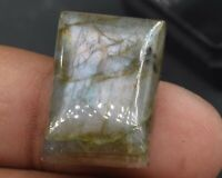 C-2219 Labradorite Natural Gemstone Rectangle Cushion Cabochon 31Ct 8x15x22mm