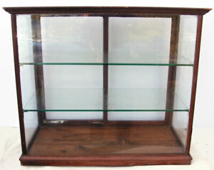 Antique Cadbury's Retail Counter Top Sweet Shop Display / Collectors Cabinet