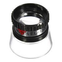 15X Mini Monocular Magnifying Glass Loupe Lens Jeweler Tool Eye Magnifier