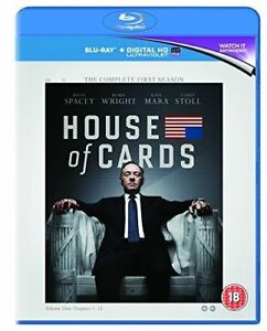 House of Cards Season 1 [Bluray]