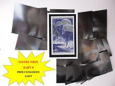 PROMO POCHETTES HAWID fond noir par 50 - 32 x 53 - simple soudure MATERIEL NEUF