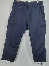 Men's LA Police Gear Elastic Basic Operator Tactical Pants BO1003EWB Blue 42x30