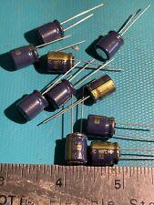 capacitor electrolytic 220uf 35v (10 pcs) panasonic