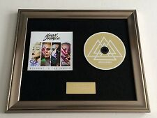 SIGNED/AUTOGRAPHED NEON JUNGLE - WELCOME TO THE JUNGLE FRAMED CD PRESENTATION..