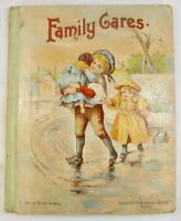 Family Cares Antique Childrens Book 1895 Illustrated Lothrop Boston (O) AS IS
