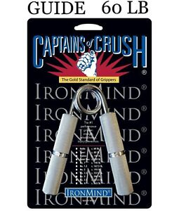 IronMind | Captains of Crush CoC Hand Grippers | 60lb Guide Gripper | NEW NO BOX