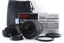 Sigma DC Macro 17-70mm f/2.8-4.5 DC Lens for Pentax From JAPAN 【Excellent】