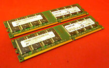 2GB KIT Micron mt16vddt12864ay-335f2 333 MHZ PC2700 DDR1 ct12864z335.16 tfy