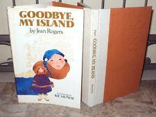 1983 GOODBYE, MY ISLAND - KING ISLAND, ALASKA = Double Signed HCDJ NICE!!