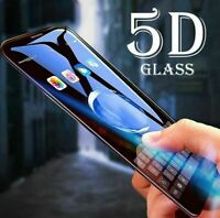 3 Full Coverage 5D Tempered Glass Screen Protector For iPhone X XS XR 11 Pro MAX