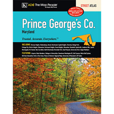 Prince George's County MD ADC Street Atlas