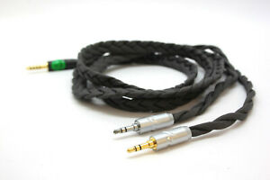 Ultra-low capacitance cable for Denon Headphones     3.5mm 1/8 or 6.3mm 1/4 Jack