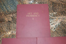 Art and Pharmacy, 3 Volumes, D.A. Wittop Koning, Ysel Press, Brockway Glass