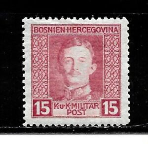 Bosnia Stamps-Scott # 110/A29-15h-MintL/H-1917-OG