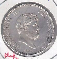 CR 0164 MONEDA DE ITALIA PLATA 120 G AÑO 1854