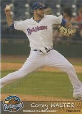 2016 Midland RockHounds Corey Walter RC Rookie Oakland Athletics
