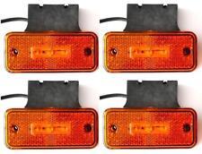 4x LED LATO POSIZIONE LUCI DI INGOMBRO fari per CAMION RIMORCHIO CAMION BUS W/