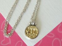 Brighton Devotion Lucia Coin Medallion Petite Reversible Necklace New tags