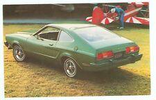 1977 Ford Mustang II 3-Door 2+2 (NEW Post Card (autoB#201*20