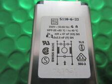 Filtro de línea 6A 250V Kfs KFX clase 1 de entrada de CA