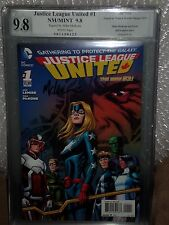Justice League United #1 PGX SS 9.8 Signed Artist Mike McKone New 52 CGC G Arrow