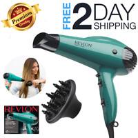 Revlon Professional Hair Blow Ionic Dryer 2 Speed Diffuser Salon Volume Booster