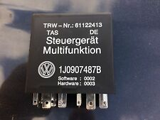 VW GOLF MK4 BORA MULTIFUNCTION STEERING CONTROLS 452 RELAY 1J0907487B