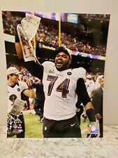 Photofile NFL Michael Oher Baltimore Ravens 8x10 Photo