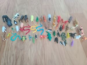 lot of mini animals figures toy